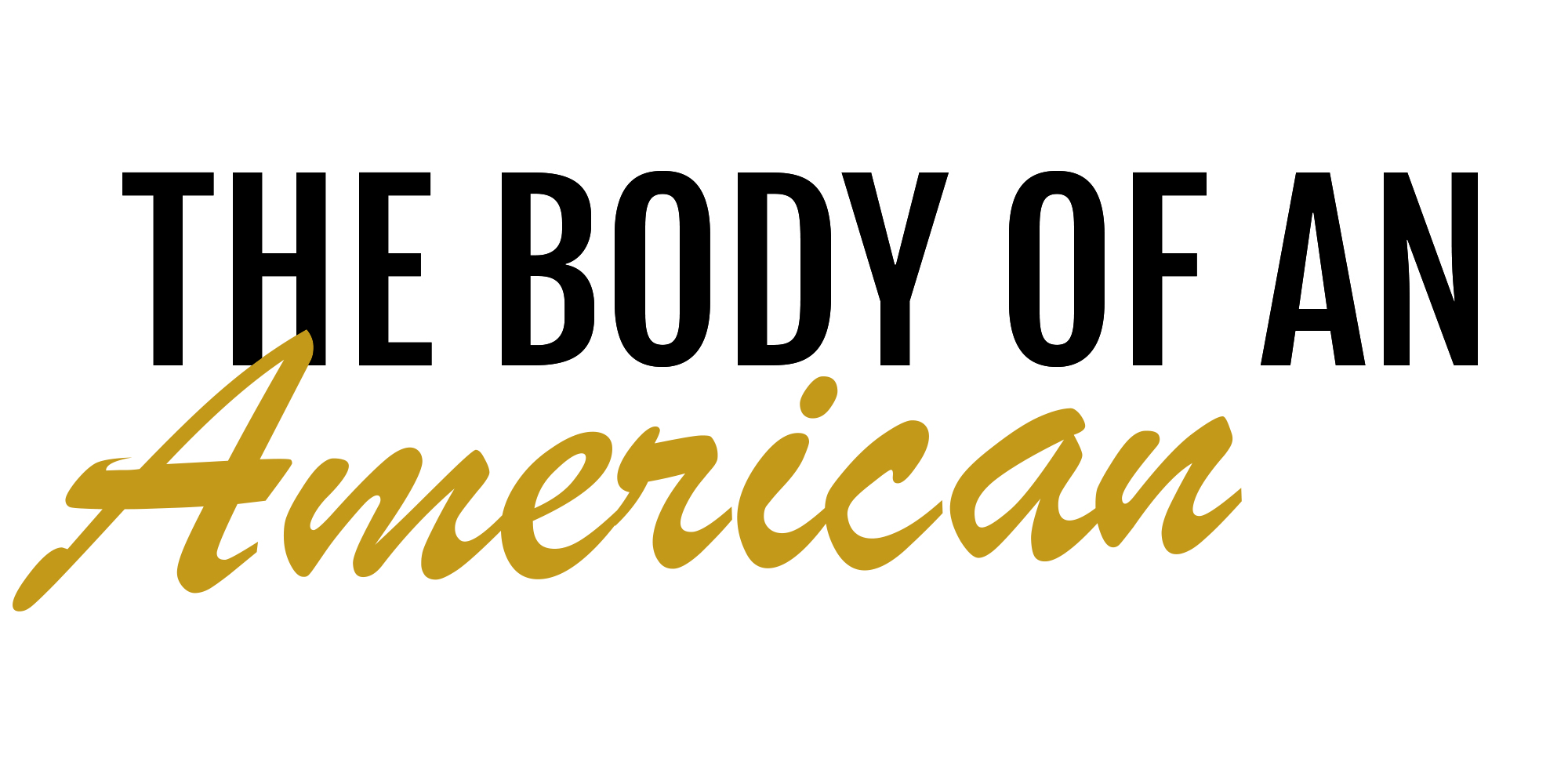 The Body of an American logo